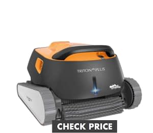 Dolphin Triton PS Automatic Robotic Cleaner with Extra-large Filter Basket